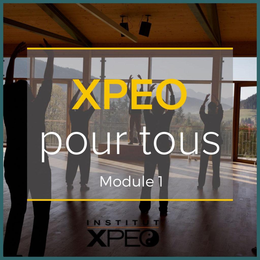 XPEO pour tous - M1