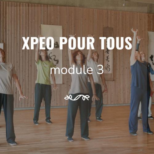XPEO pour tous Tai chi - Qi Gon - Cours en ligne